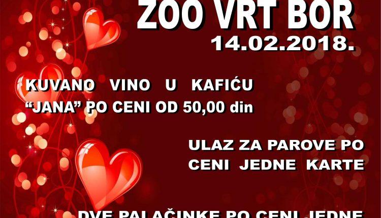 Dan zaljubljenih u Zoo Vrt-u