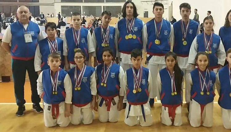 Nove medalje u pojedinačnim sportovima