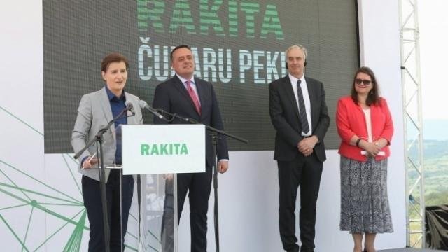 Premijerka Brnabić u poseti Boru