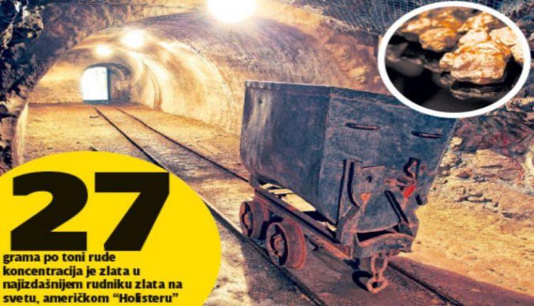 Kanađani pronašli bogate žice zlata kod Boljevca