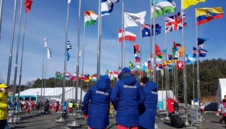 Podignuta zastava Srbije u Olimpijskom selu