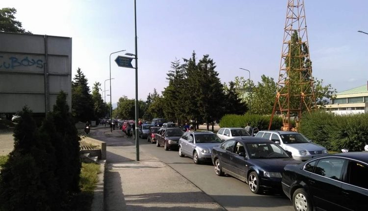 Blokada saobraćaja zbog cene goriva i u Boru