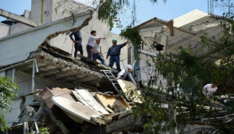 Snažan zemljotres u Meksiku (VIDEO)